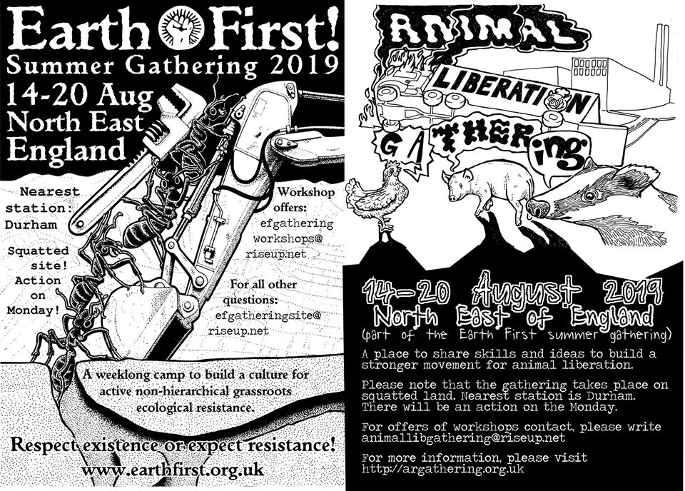 EarthFirst! and Animal Liberation summer gathering | CODE ROOD