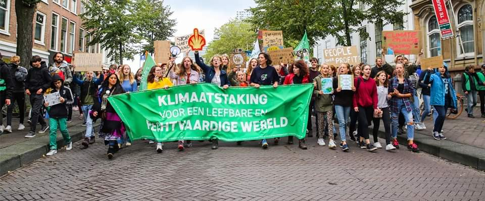 Dag voor Internationale Klimaatactie 29 november