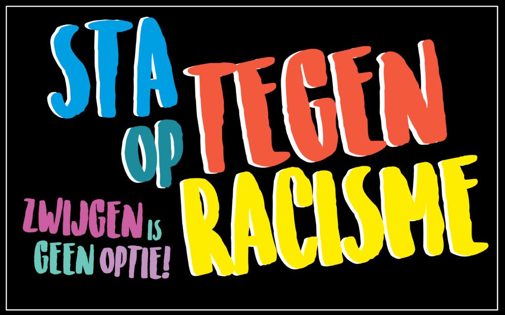 Banner Samen Tegen Racisme